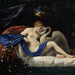 Style of Pier Francesco Mola – Leda and the Swan, Part 6 National Gallery UK