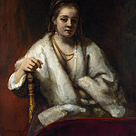 Part 6 National Gallery UK - Rembrandt - Portrait of Hendrickje Stoffels (attr.)