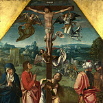 Workshop of the Master of 1518 – The Crucifixion, Part 6 National Gallery UK