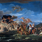 Mythological Scene with the Rape of Proserpine, Luca Giordano