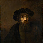 Part 6 National Gallery UK - Rembrandt - A Bearded Man in a Cap