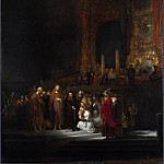 Rembrandt – The Woman taken in Adultery, Part 6 National Gallery UK