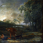 Studio of Claude – Landscape with the Death of Procris, Part 6 National Gallery UK