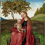 Style of Martin Schongauer – The Virgin and Child in a Garden, Part 6 National Gallery UK
