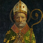 Part 6 National Gallery UK - Style of Ambrogio Bergognone - Saint Ambrose