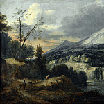 Roelant Roghman – A Mountainous Landscape, Part 6 National Gallery UK