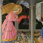 Zanobi Strozzi – The Annunciation, Part 6 National Gallery UK