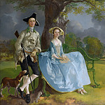 Thomas Gainsborough – Mr and Mrs Andrews, Part 6 National Gallery UK