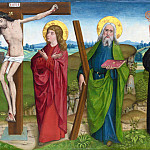 Part 6 National Gallery UK - the Master of Liesborn - The Crucifixion with Saints