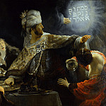 Part 6 National Gallery UK - Rembrandt - Belshazzars Feast
