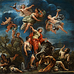 Allegory of Temperance, Luca Giordano