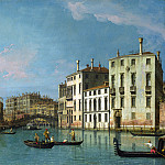 Studio of Canaletto – Venice – Entrance to the Cannaregio, Part 6 National Gallery UK