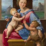 Part 6 National Gallery UK - Raphael - The Garvagh Madonna