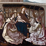Portuguese – The Mystic Marriage of Saint Catherine, Part 6 National Gallery UK