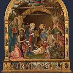 Part 6 National Gallery UK - Pietro Orioli - The Nativity with Saints Altarpiece