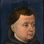 Part 6 National Gallery UK - Workshop of Robert Campin - Portrait of a Franciscan
