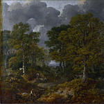 Thomas Gainsborough – Cornard Wood, near Sudbury, Suffolk, Part 6 National Gallery UK