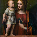 Workshop of Bernardino Luini – The Virgin and Child, Part 6 National Gallery UK