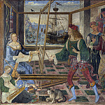 Part 6 National Gallery UK - Pintoricchio - Penelope with the Suitors