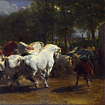 Rosa Bonheur and Nathalie Micas – The Horse Fair, Part 6 National Gallery UK