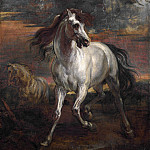 Style of Anthony van Dyck – The Horses of Achilles, Part 6 National Gallery UK