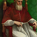 Part 6 National Gallery UK - Raphael - Portrait of Pope Julius II