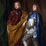 Style of Anthony van Dyck – Portraits of Two Young Englishmen, Part 6 National Gallery UK