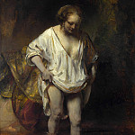 Part 6 National Gallery UK - Rembrandt - A Woman bathing in a Stream (Hendrickje Stoffels)
