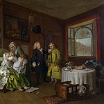 Part 6 National Gallery UK - William Hogarth - Marriage A-la-Mode - 6, The Ladys Death