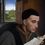 Part 6 National Gallery UK - Workshop of Rogier van der Weyden - A Man Reading (Saint Ivo)