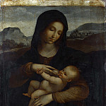 Sodoma – The Madonna and Child, Part 6 National Gallery UK