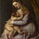 Part 6 National Gallery UK - Titian - The Virgin suckling the Infant Christ