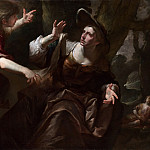 Gioacchino Assereto – The Angel appears to Hagar and Ishmael, Part 6 National Gallery UK