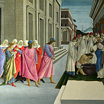 Sandro Botticelli – Four Scenes from the Early Life of Saint Zenobius, Part 6 National Gallery UK