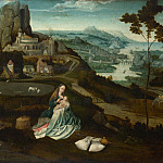 Workshop of Joachim Patinir – Landscape with the Rest on the Flight into Egypt, Part 6 National Gallery UK