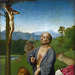 Workshop of Gerard David – Saint Jerome in a Landscape, Part 6 National Gallery UK