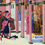 Part 6 National Gallery UK - Sassetta - Saint Francis renounces his Earthly Father