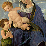 Vincenzo Catena – The Madonna and Child with the Infant Saint John, Part 6 National Gallery UK