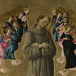 Sandro Botticelli – Saint Francis of Assisi with Angels, Part 6 National Gallery UK