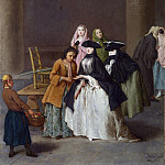 Pietro Longhi – A Fortune Teller at Venice, Part 6 National Gallery UK