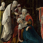 Part 6 National Gallery UK - Wolf Huber - Christ taking leave of his Mother