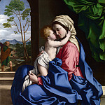 Sassoferrato – The Virgin and Child Embracing, Part 6 National Gallery UK