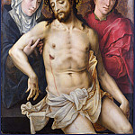 Workshop of the Master of the Prodigal Son – The Dead Christ supported by the Virgin and Saint John, Part 6 National Gallery UK