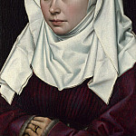 Part 6 National Gallery UK - Robert Campin - A Woman