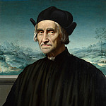 Part 6 National Gallery UK - Ridolfo Ghirlandaio - Portrait of Girolamo Benivieni