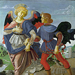 Workshop of Andrea del Verrocchio – Tobias and the Angel, Part 6 National Gallery UK