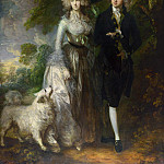 Mr and Mrs William Hallett (), Thomas Gainsborough