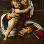 Workshop of Andrea Solario – The Virgin and Child, Part 6 National Gallery UK