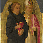 Zanobi Machiavelli – A Bishop Saint and Saint Nicholas of Tolentino, Part 6 National Gallery UK