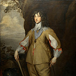 Studio of Anthony van Dyck – Prince Charles Louis, Count Palatine, Part 6 National Gallery UK